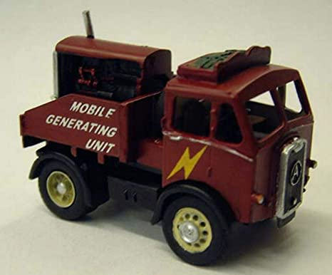 Caja eléctrica de Langley Models Atkinson + generador de camión / escala OO sin pintar Kit