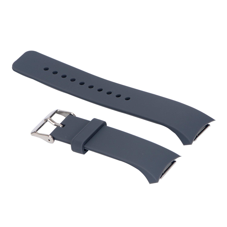 Gosuper Pulsera de silicona suave correa banda Smartwatch para Samsung Gear S2 SM-R720//R730