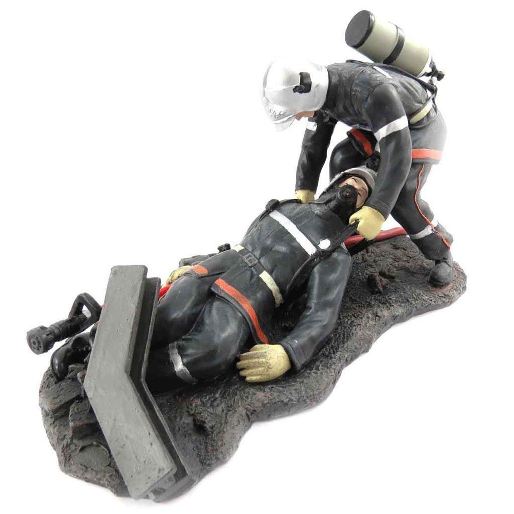 Statuette 'Pompiers' (rescuing his colleague). Les Tresors de Lily 090415ZZZ012013J761100