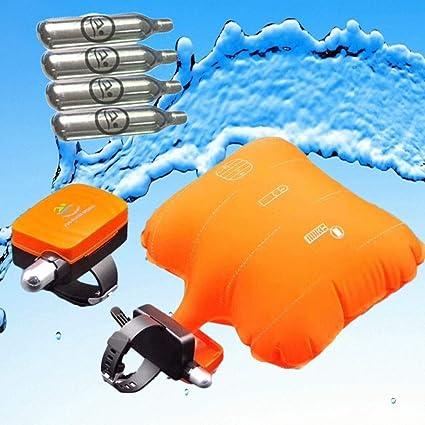 Pulsera de Salvavidas Flotante de Dispositivos Dispositivo de Rescate Anti-ahogamiento Pulsera para Adultos y ni/ños para Swimming Surf Barco Pesca y Otros Deportes acu/áticos