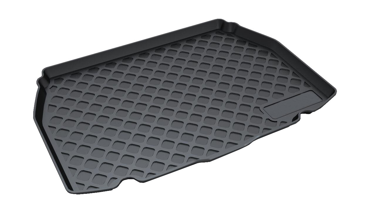 Vesul Rubber Rear Trunk Cover Cargo Liner Trunk Tray Carpet Floor Mat Fits on Toyota C-HR CHR 2018 2019