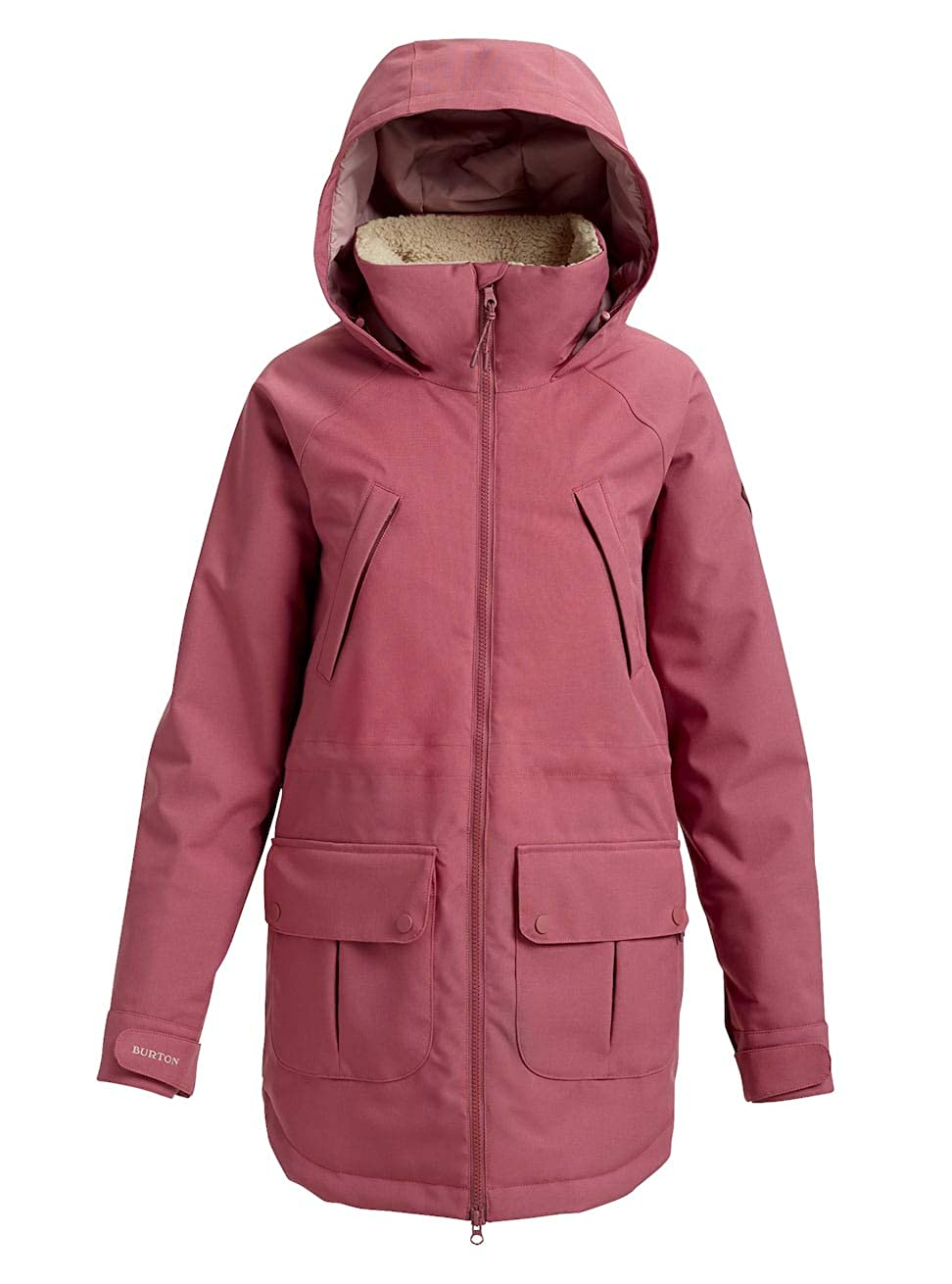 Burton OUTERWEAR レディース Large Rose Brown B07F76FYN8