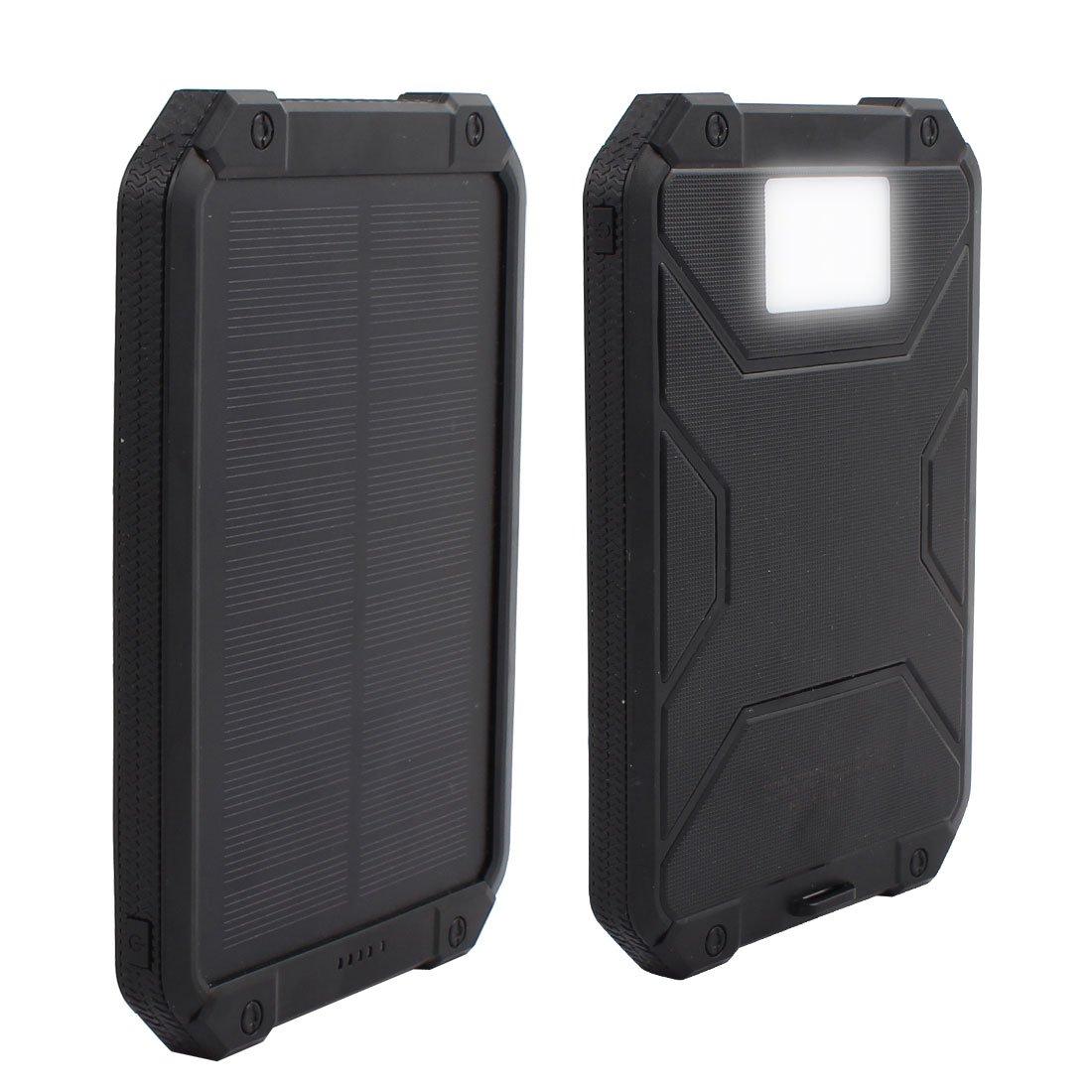X-Dr Solar Charger, 10000mAh Dual USB Power Bank Portable ...