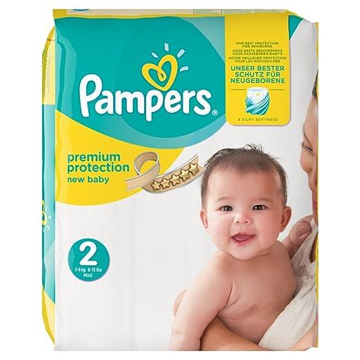 3 opinioni per Pampers New Baby, misura 2, 3–6kg, 54pannolini, 1er Pack (1x 54pezzi),