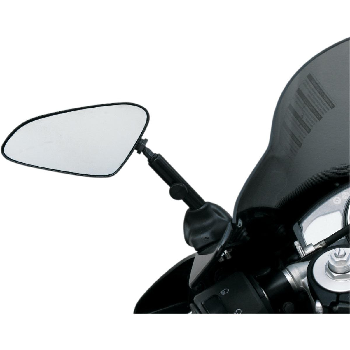 Targa Adjustable Sportbike Mirror Blue for Honda Kawasaki SUZ Yamaha by Targa