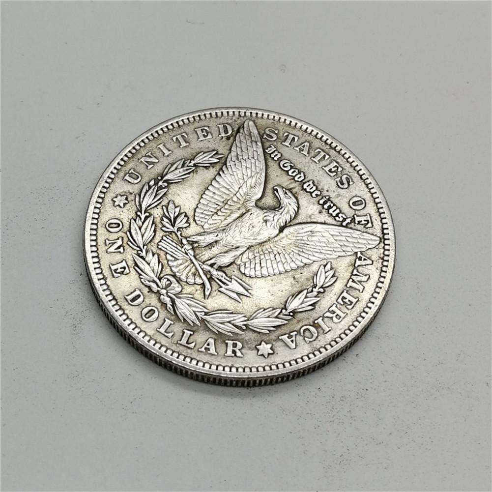 B SUPERLOVE Coin Collection 1880 Commemorative Coins Copy USA Morgan Silver Dollar $1