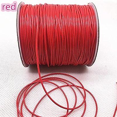 Cordón elástico: 10 m de diámetro 1,0/1,5 mm encerado hilo de ...