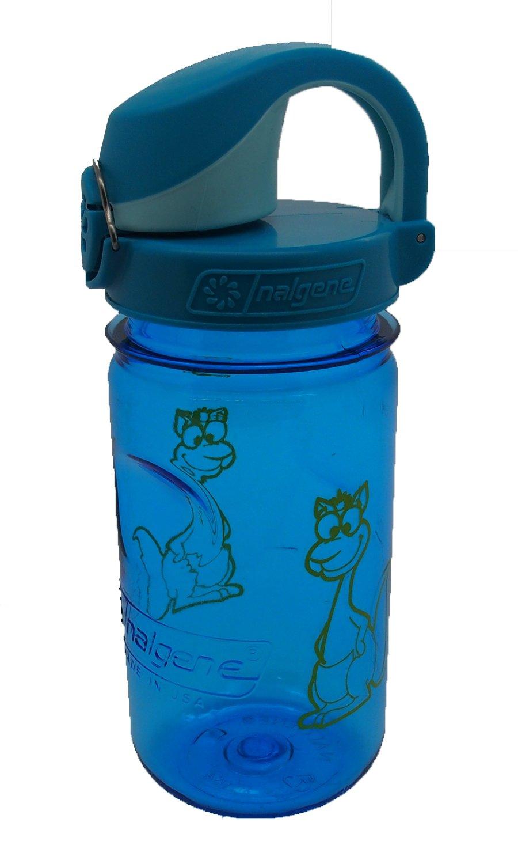 Botella de agua para bicicletas Nalgene Trinkflasche Everyday Otf Kids color azul 0.375l