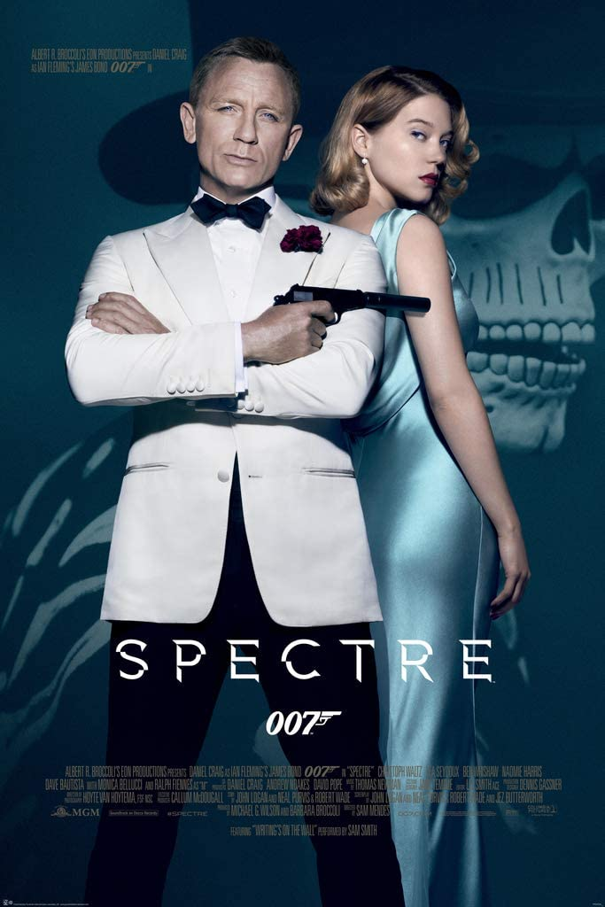 Amazon.com: Pyramid America James Bond Spectre 007 Movie Cool Wall Decor  Art Print Poster 24x36: Posters & Prints