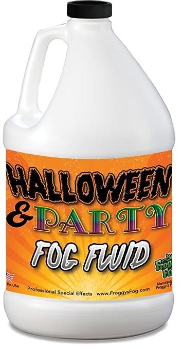1 Gallon (128 Oz.) Great Party & Dj Fog Juice For Water Based Fog Machines   American Made   Perfect Fog Fluid For Small 400 Watt To Higher Wattage 1500 Watt Foggers by Froggys Fog