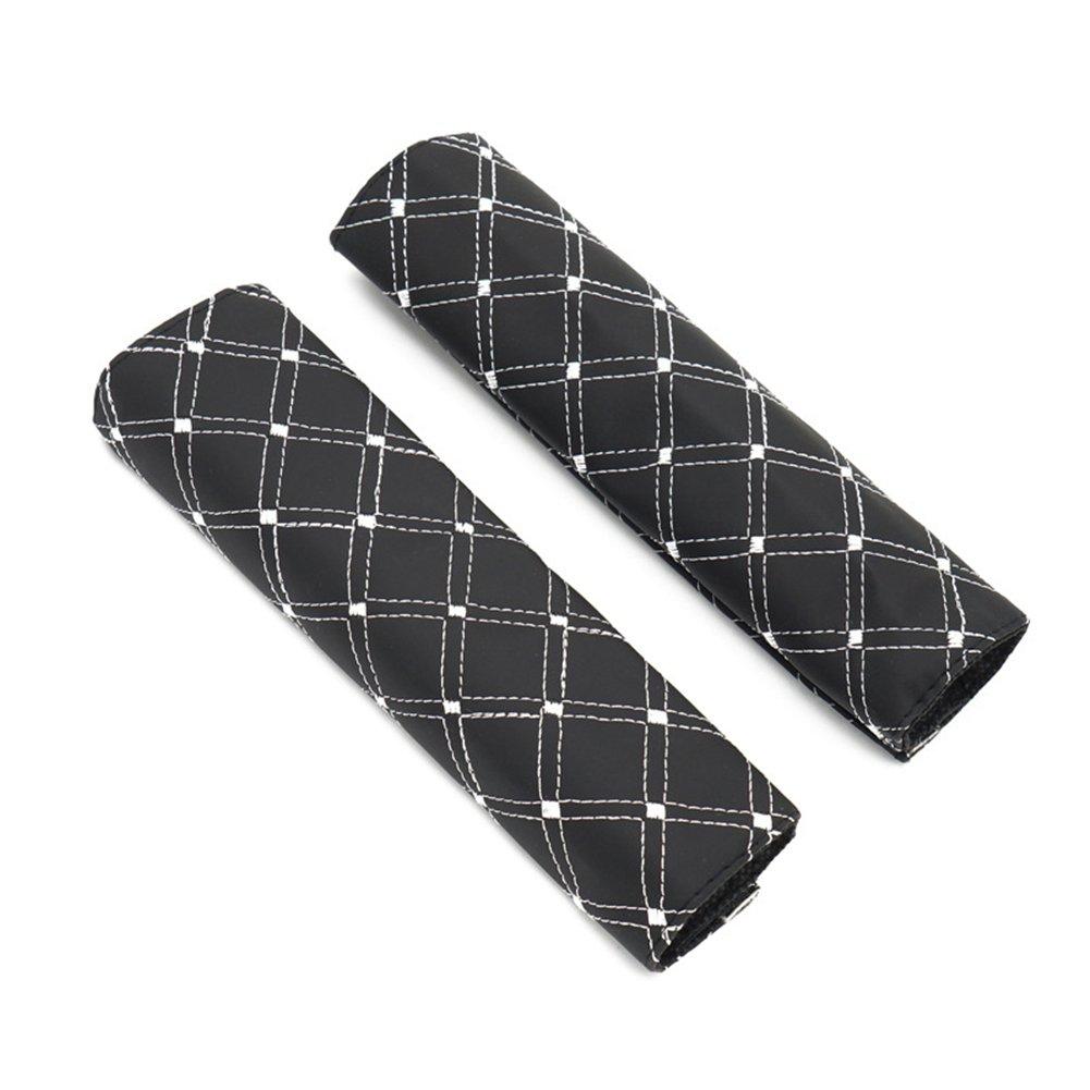 DUBENS, imbottitura per cintura, cuscino per spalla, cuscino per cintura di sicurezza universale morbido, 2 cuscini per cintura di sicurezza in auto, per un maggiore comfort durante il viaggio