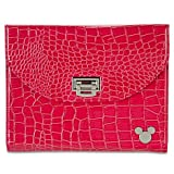 Disney Mickey Mouse Tablet Case (Pink) for iPad/Mini: Faux Leather Crocodile/Snakeskin by Disney Parks