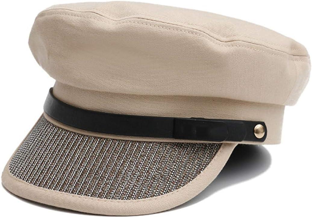 Women Beret Hat Flat Top...