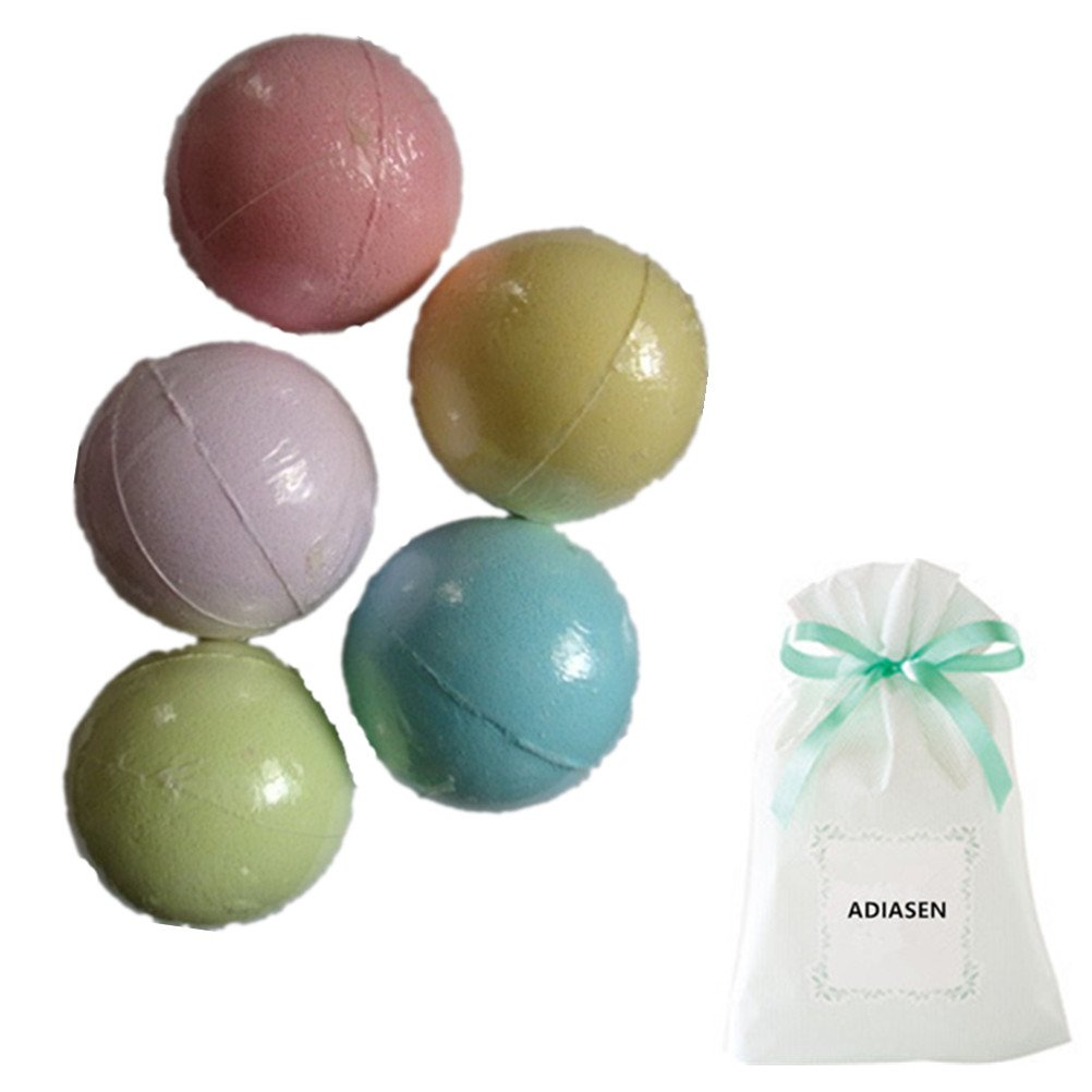 ADIASEN 6 Set ( 10g/set ) Women men Bath fizzers Bath Bombs Gift