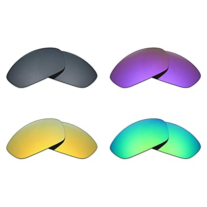 ff748f2d649 Image Unavailable. Image not available for. Color  Mryok 4 Pair Polarized  Replacement Lenses for Oakley Straight Jacket 2007 Sunglass ...