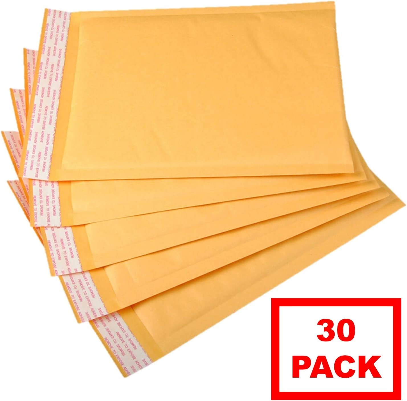 """#000 Extra Wide 5x8 KRAFT BUBBLE MAILERS SHIPPING MAILING PADDED ENVELOPES 5/"""" x"""