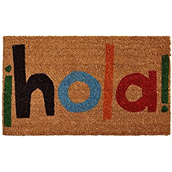 Home & More 121561729 Hola Doormat