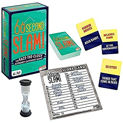 Endless Games 60 Second Slam! - Family Board Game: Toys & Games
