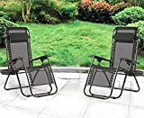 Best Beach Chair With Cups - Zero Gravity Chairs Case Of 2 Black Lounge Review