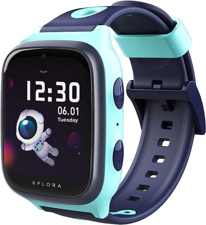 XPLORA 4 - Teléfono Reloj 4G para niños (SIM no incluida): Amazon ...