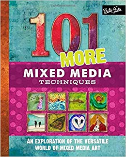 """Image result for """"101 more mixed media"""" techniques book cover"""