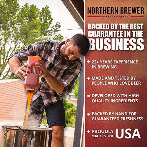 Deluxe Home Brewing Equipment Starter Kit - Glass Carboys - with 5 Gallon Chinook IPA Beer Recipe Kit by Northern Brewer (Image #3)