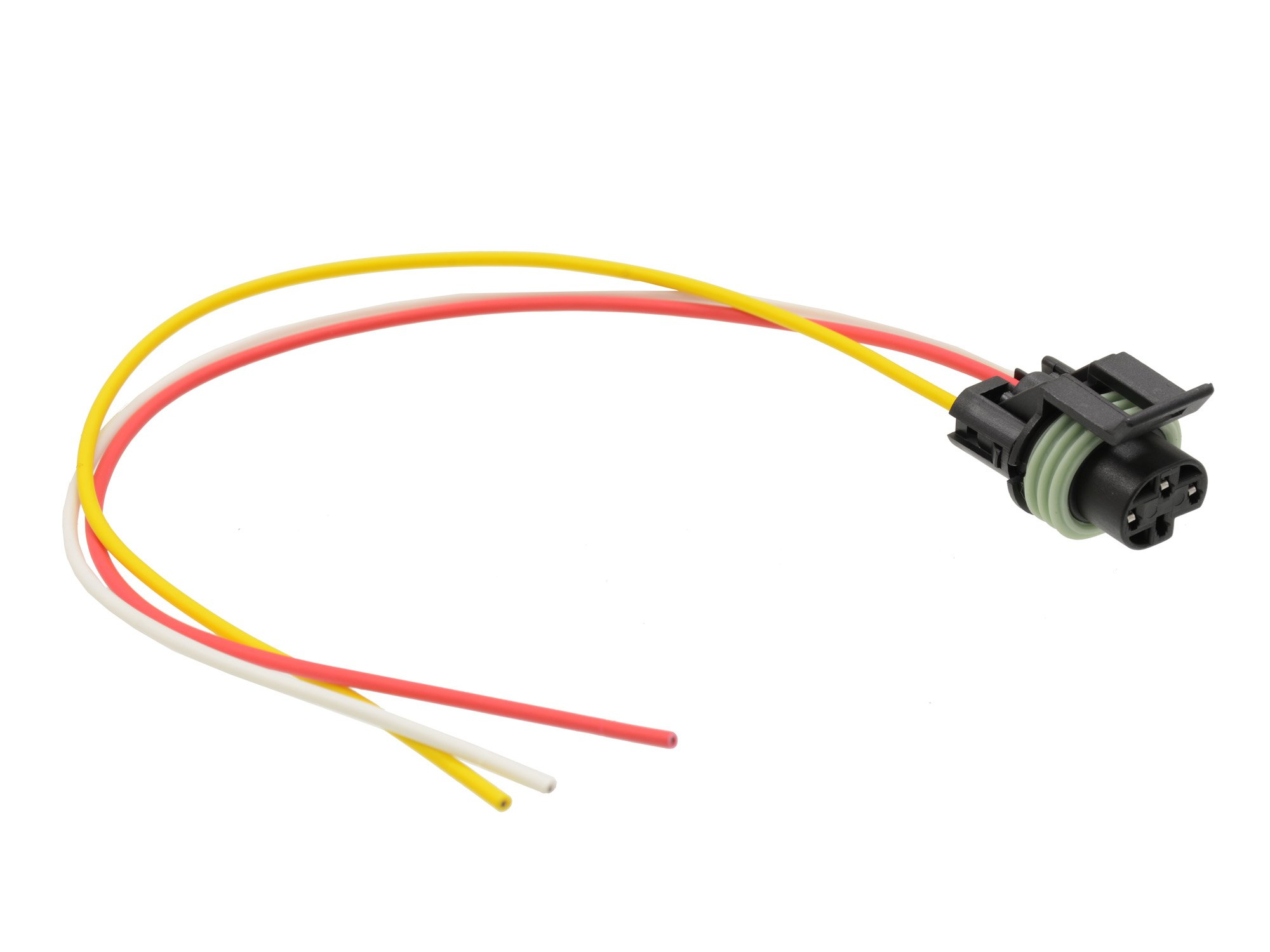 Michigan Motorsports Oil Pressure Switch Connector Pigtail 3 wire for GM 6.5L 1992-2003 PN- 12085499, PT121