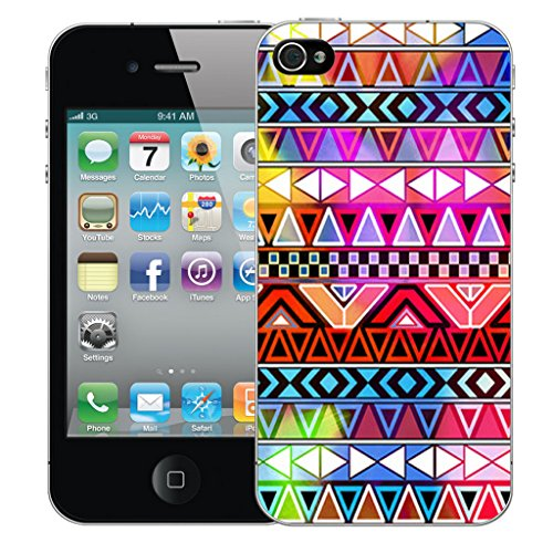 Mobile Case Mate iPhone 4s Silicone Coque couverture case cover Pare-chocs + STYLET - Carnival pattern (SILICON)