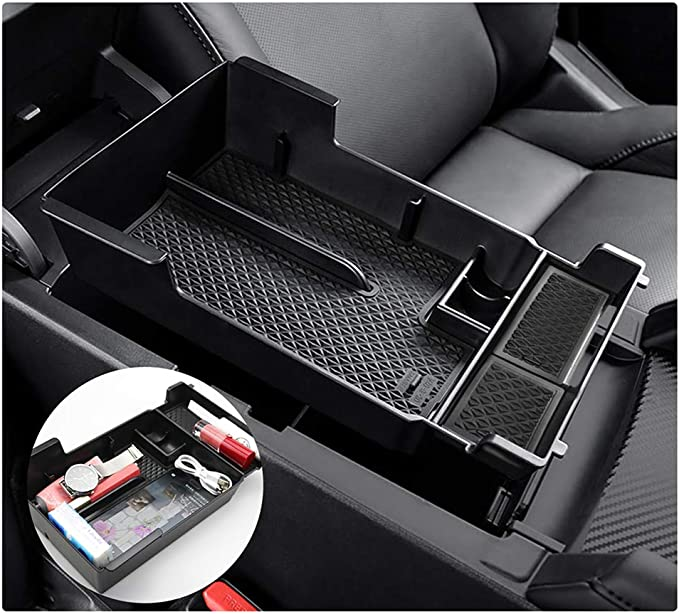 per Mazda 3 4th 2019 2020 Central Armrest Console Storage Box Car Organizzatore Contenitore Accessori Interni N//A Auto Bracciolo Centrale Scatola Immagazzinaggio Contenitore