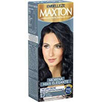 Tinta de Cabelo Morena e Elegante 1.7 Kit, Maxton, Preto Azulado