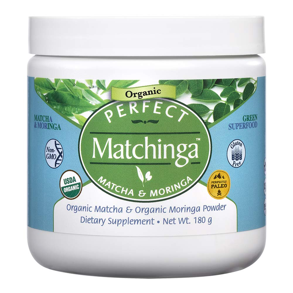 Perfect Matchinga - Organic Matcha & Organic Moringa - Energy Booster - 180g Powder