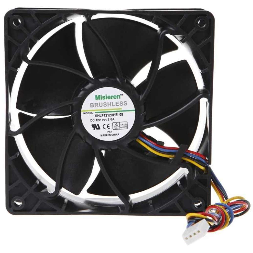 6500 RPM Fan para AntMiner D3/L3+/S9/T9/S7/X3/Z9 AsicMine...