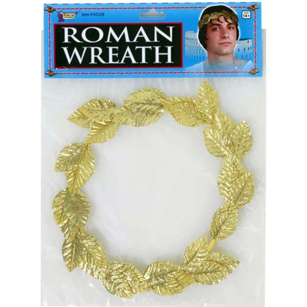 Green Roman Wreath Forum Novelties