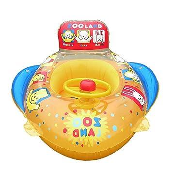 Uleade Inflable bebé Infante Niño infantil Piscina asiento del flotador del barco Anillo Raft Presidente piscina de juguete: Amazon.es: Juguetes y juegos