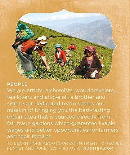 Review Numi Organic Tea–Mini Sampler,