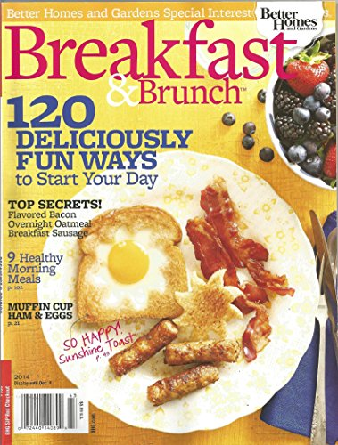 - Better Homes and Gardens Breakfast and Brunch 2014
