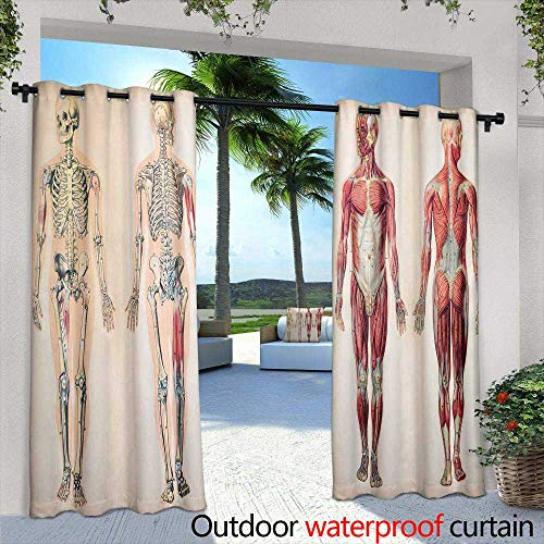Lightly Outdoor Privacy Curtain for Pergola,Horse in The Monument Valley USA Arizona,W96 x L108 Outdoor Patio Curtains Waterproof with Grommets (Best Wood For Pergola In Arizona)