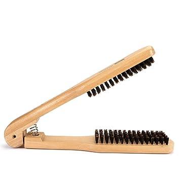 Faleto Antistatisch Haare Glätten Haarglätter Bürste Haarbürste