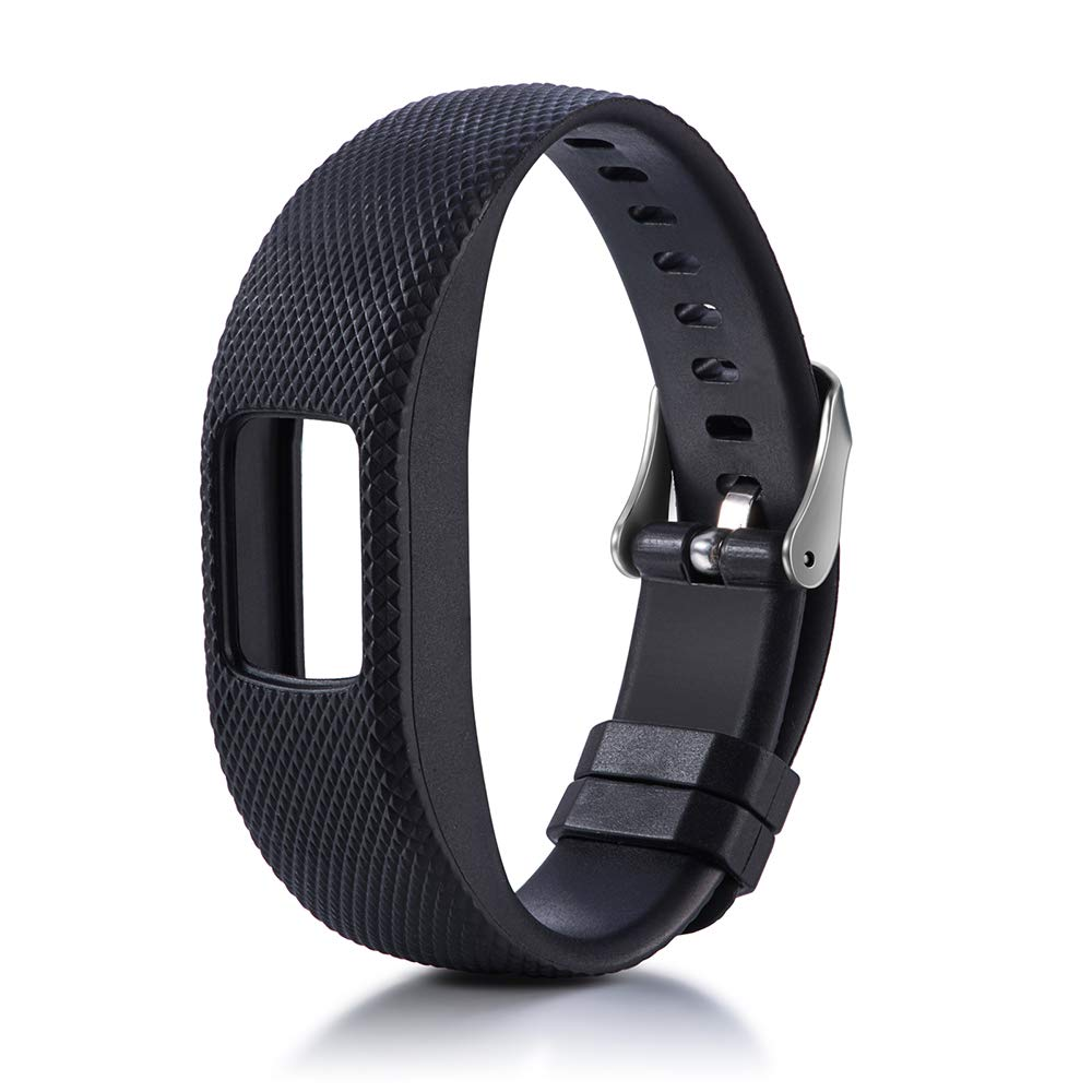 Amazon.com: Silicone Strap for Garmin Vivofit 4 Smart Watch ...