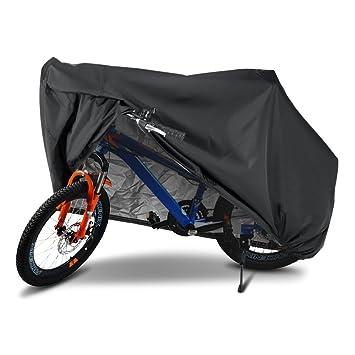 Fundas para Bicicletas, Furado Cubiertas para Bicicletas, Funda Bici de 190T Tafetán Resistente Proteger Bici del Sol lluvia Polvo, Cubierta ...