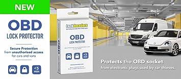 OBD Lock Protector: Amazon co uk: Car & Motorbike
