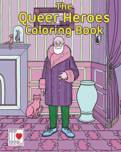 The Queer Heroes Coloring - Macy's Madison