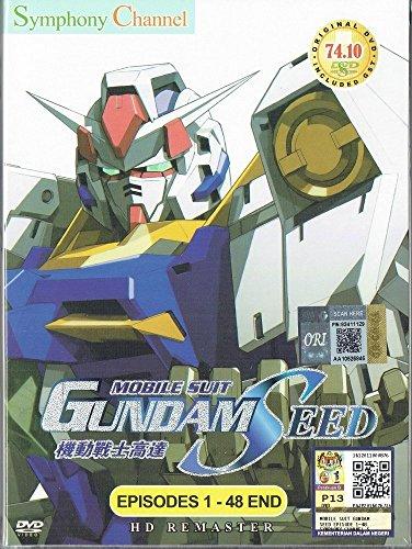 MOBILE SUIT GUNDAM SEED (ENGLISH AUDIO) - COMPLETE TV SERIES DVD BOX SET ( 1-48 EPISODES