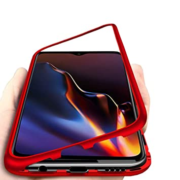 DoubTech Funda Magnética OnePlus 6T, Fuerte Absorción Imanes ...