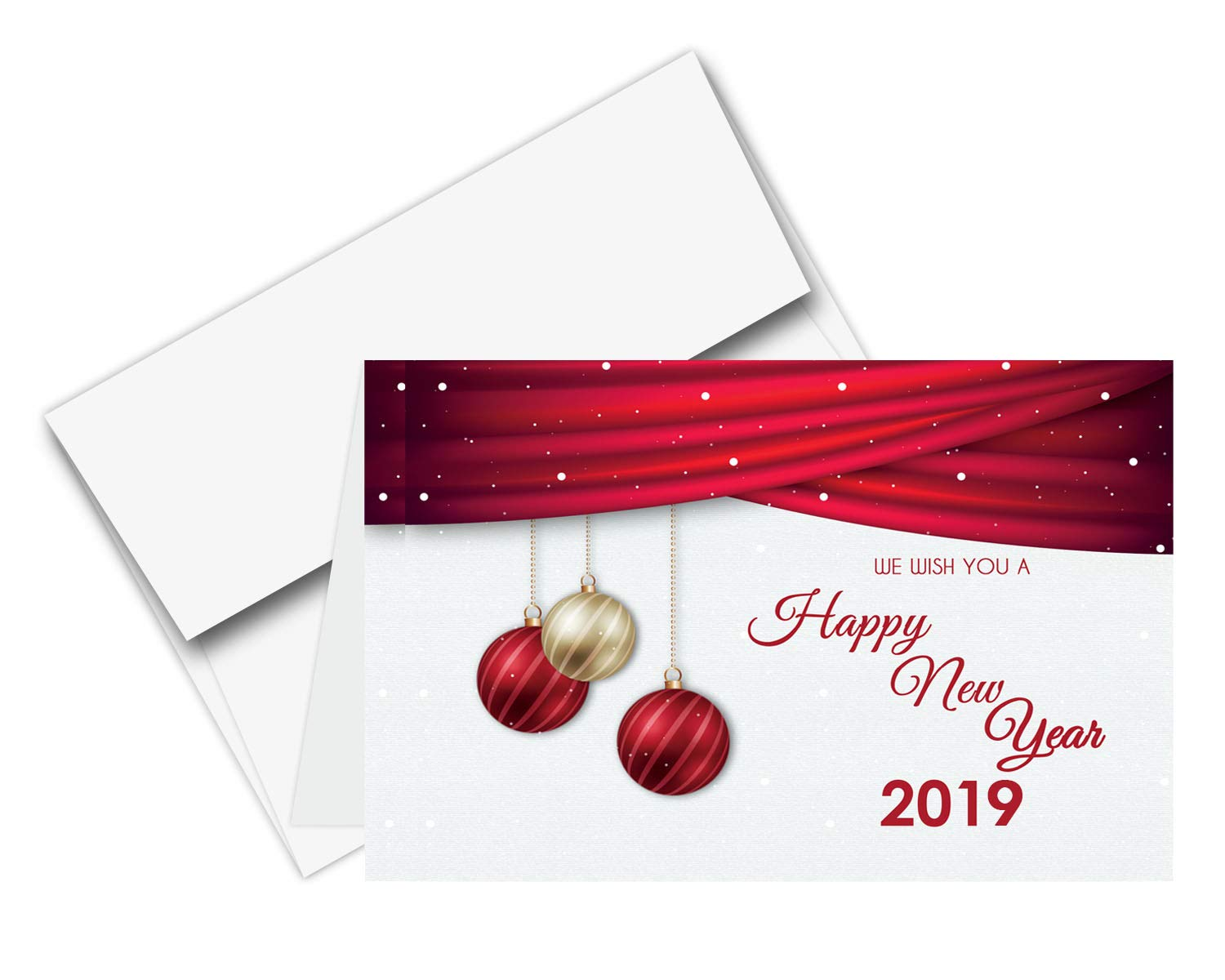 Amazon 2018 Happy New Year Cards Envelopes 25 Cards 25