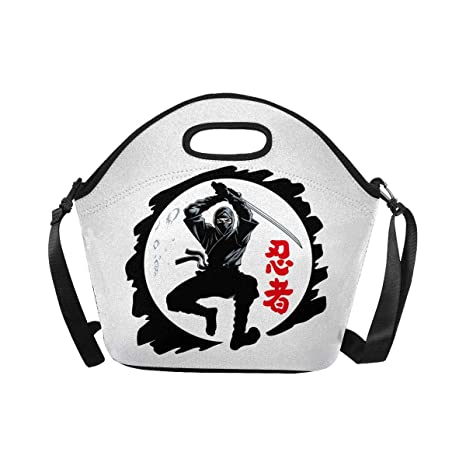 Amazon.com: InterestPrint Ninja Warrior Jumping Attack Funny ...