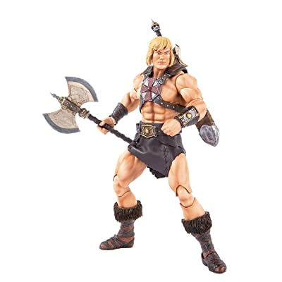 Mondo Tees Masters of The Universe: He-Man 1: 6 Scale Collectible Action Figure: Toys & Games