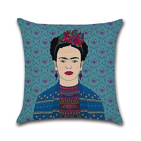 RecoverLOVE Funda de cojín Thida Pillow Frida Kahlo ...
