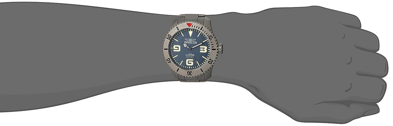 Invicta Men s Pro Diver Automatic-self-Wind Diving Watch with Titanium Strap, Silver, 24 Model 23127