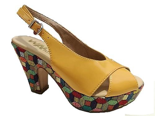 Melluso 03773 LATTE Scarpa donna sandalo tacco medio pelle lucida latte Aclaramiento De Salida De Fábrica VZC7f